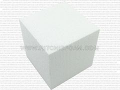 "Gymnastic Pit Foam Cubes/Blocks 68 pcs 8""x8""x8"" (White)"