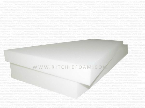 "Twin NEW 7""x39""x75"" Medium Firm Foam Rubber Twin Size Mattress in the 1.6 pound 36 ILD."