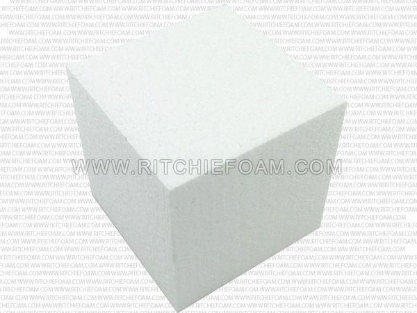 """Gymnastic Pit Foam Cubes/Blocks 500 pcs 8""""x8""""x8"""" (White)"""