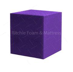 """6""""x6""""x6"""" Gymnastic Pit Foam Cubes/Blocks 168 pcs (Purple)"""