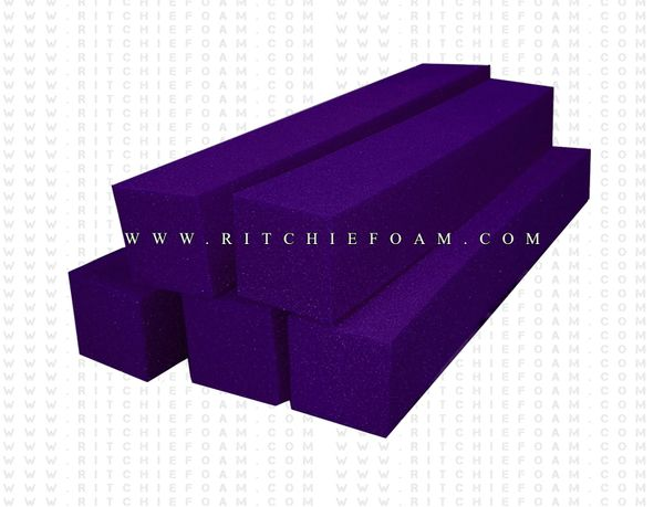 "24"" x 6"" x 6"" Gymnastic Pit Foam Log Cubes/Blocks 500 pcs (Purple)"