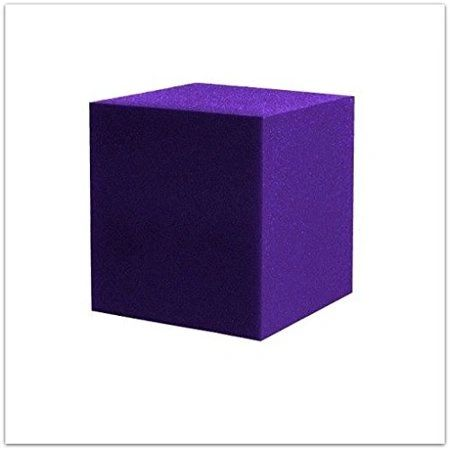 "5""x5""x5"" Gymnastic Pit Foam Cubes/Blocks 250 pcs (Purple)"