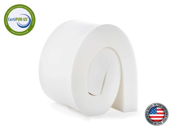 "7""x 22""x 80"" (EXTRA FIRM) High Density Upholstery Foam ""50ILD"" Upholstery Foam Cushion"