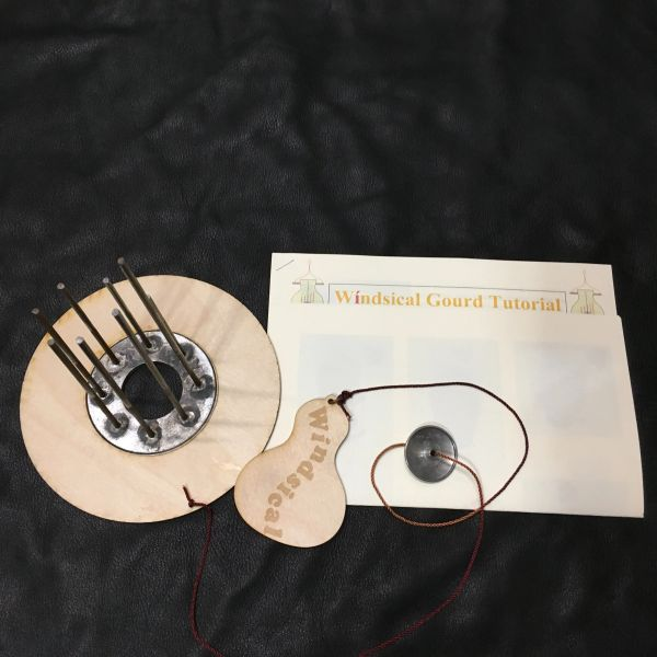 Windsical Gourd Kit and Tutorial for Wind-chime