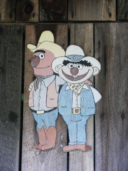 Sesame cowboys