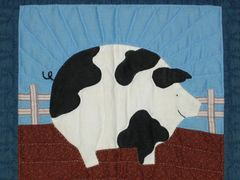 quilted pig