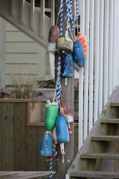 house buoys