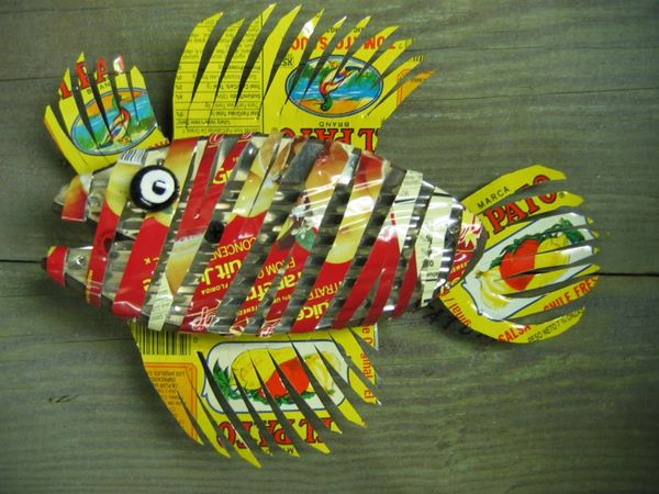 yellow and red fish