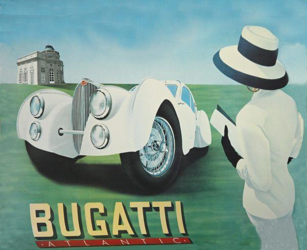 Bugatti lady