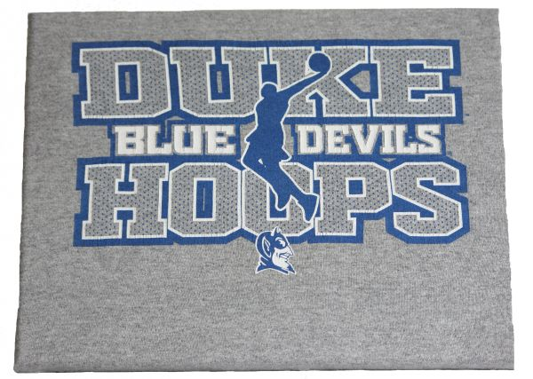 Duke hoops canvas tee
