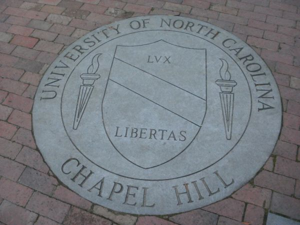 UNC Seal in brick