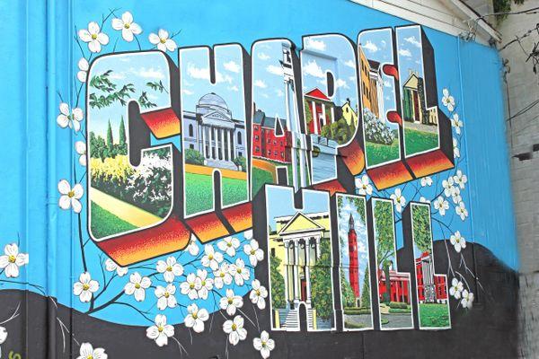 Chapel Hill mural