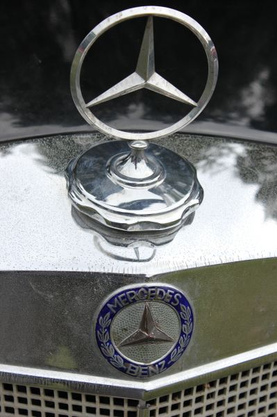 1958 Mercedes Benz 219 Peking to Paris 2013 rally car