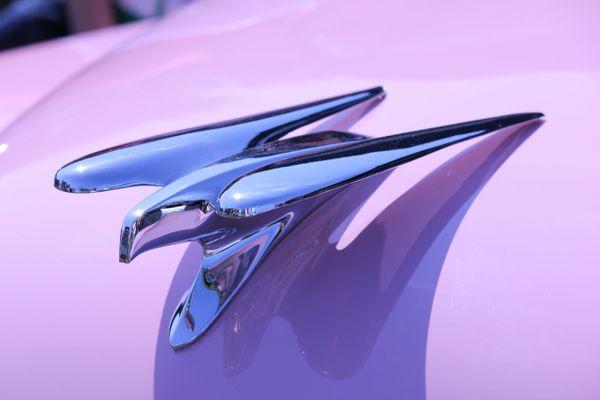1954 Chrysler La Comtesse emblem
