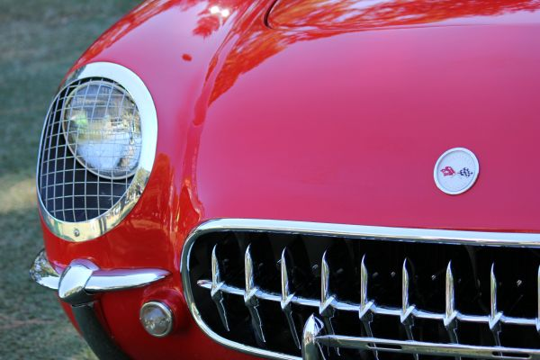 1954 Chevrolet Corvette (Sportsman Red)