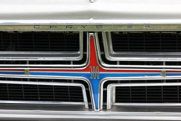 1964 Chrysler 300 Silver Coupe