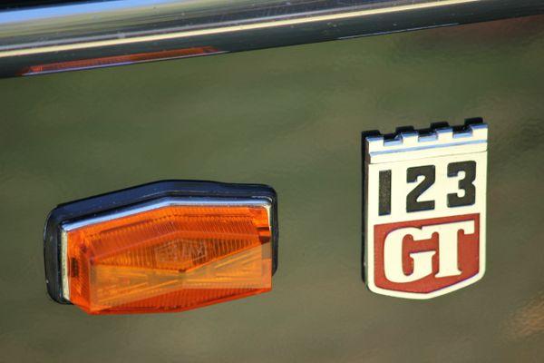 1967 Volvo 123 GT emblem