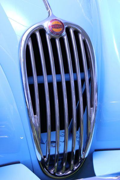 1954 Jaguar XK 140 MC Roadster grille
