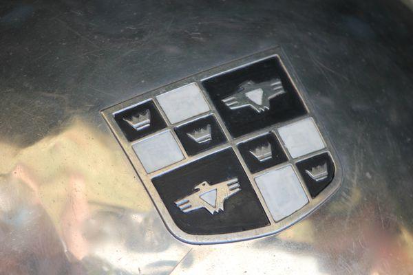 1952 Studebaker Champion emblem