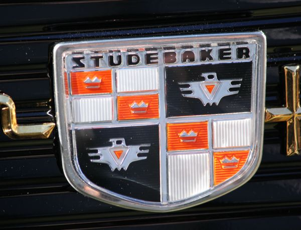 1958 Studebaker Golden Hawk emblem