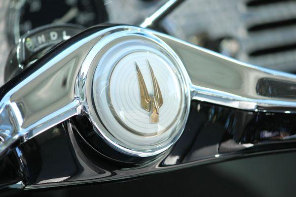 1958 Studebaker Golden Hawk steering wheel