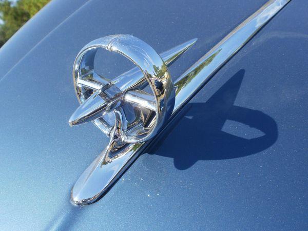1949 Buick 56-C Convertible Coupe hood emblem