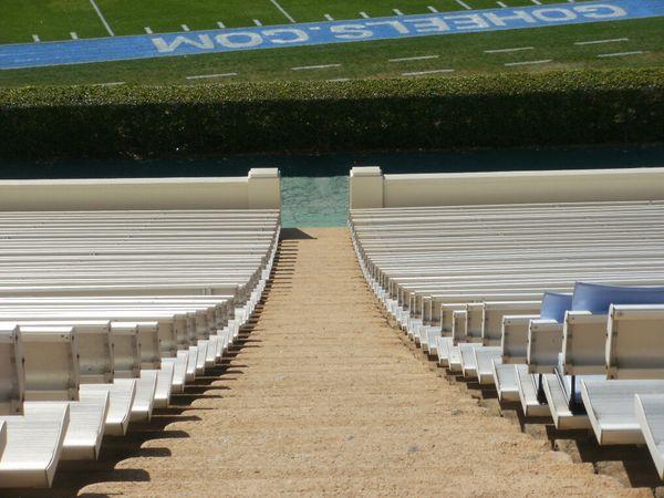 Kenan Stadium seats