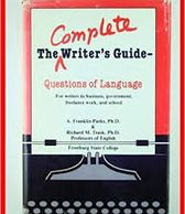 The Complete Writers Guide, a book by Richard M. Trask