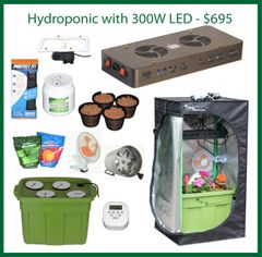 2x2x4 Hydro Grow Package
