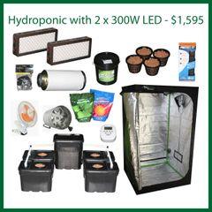 4x4x6.5 Hydro Grow Package