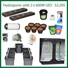 4x6x6.5 Hydro Grow Package