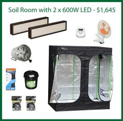 4x6x6.5 Soil Grow Package