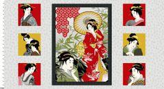 Studio E Fabrics Diary of a Geisha 2810P88