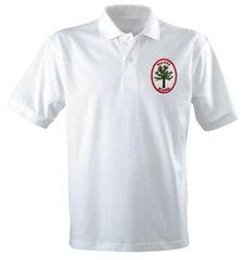 Walker School 100% Cotton Polo Shirt with School Logo