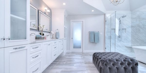 #masterbathroom #cabinetry