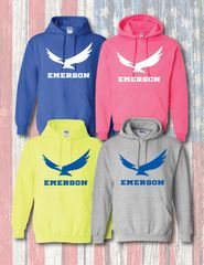 EMERSON STANDARD HOODED SWEATSHIRT