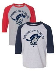3/4 SLEEVED PATRIOTS T-SHIRT