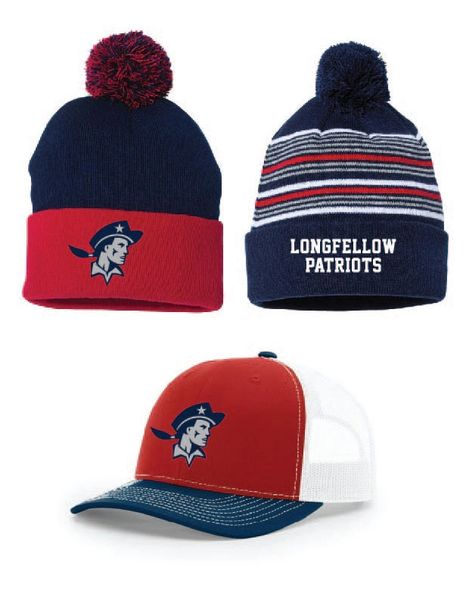Longfellow Knit and Baseball caps