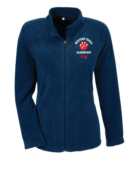 WESTERN TRAILS Fleece Mens/Ladies Full Zip Jacket