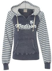 LADIES MV SPORT PULLOVER WITH HOOD