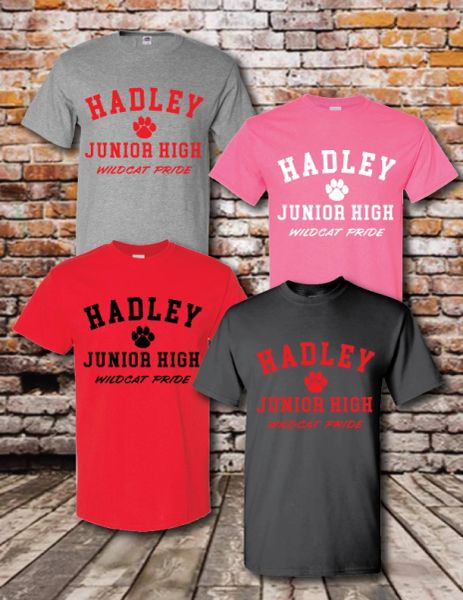 HADLEY WILDCATS COTTON T-SHIRT
