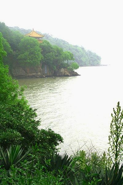 Lake Tai, also known as Lake Taihu, in the Yangtze Delta in China is the source of Yixing clay.