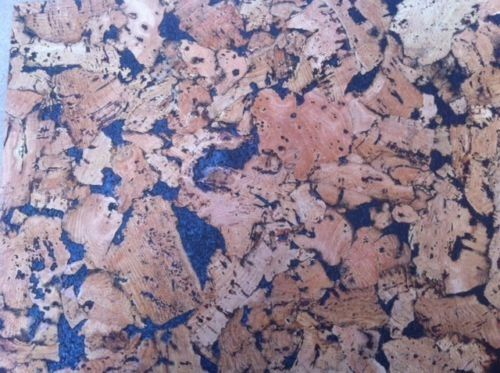 Black Pattern Cork Wall Tiles - 300mm x 300mm - 3mm thick - Pack of 18