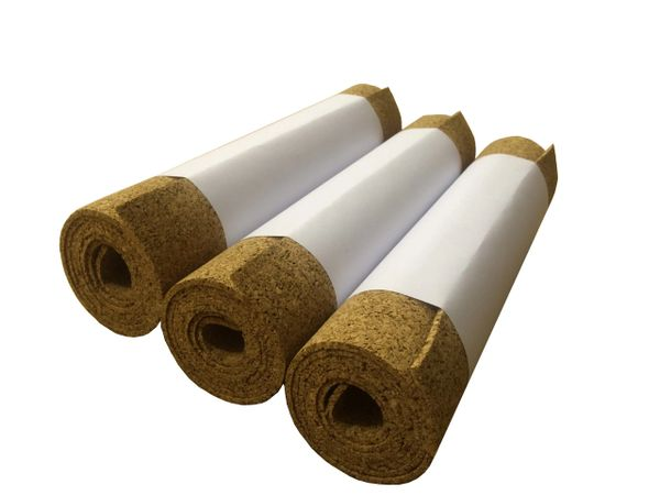 Cork Rolls - 1 Meter x 300mm - 4mm thick - Pack of 3
