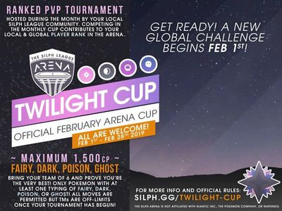 NJ GO Battle League Silph Arena Twilight Cup