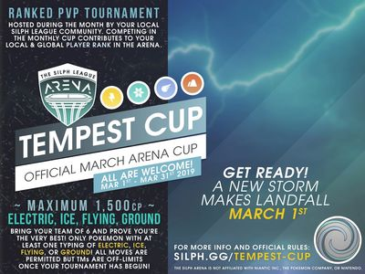 NJ GO Battle League - Silph Arena Tempest Cup