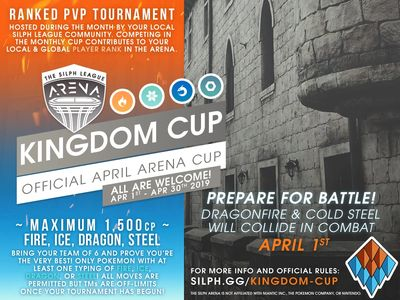 NJ GO Battle League Silph Arena Kingdom Cup