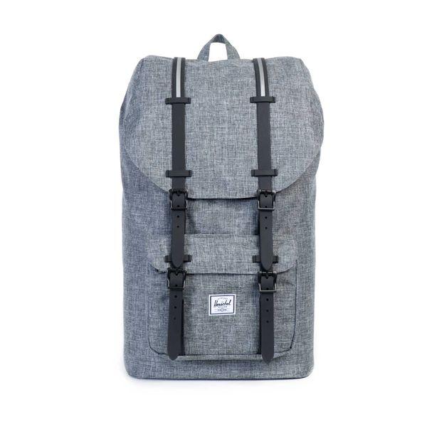 latest design promo codes available HERSCHEL - Little America 25L Backpack - Raven   Just 1 More Bag ...
