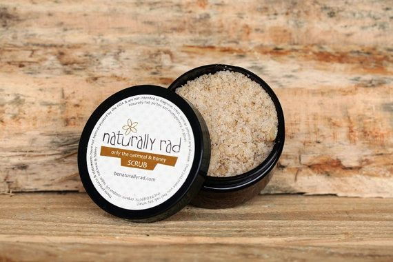 Only the Oatmeal and Honey Scrub