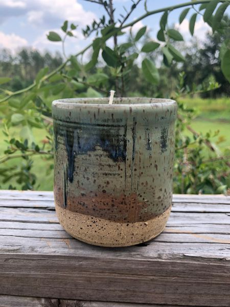 Pottery Jar Candle - Stormy Nights